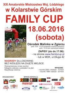 informacja regionalna,plakat Family Cup1